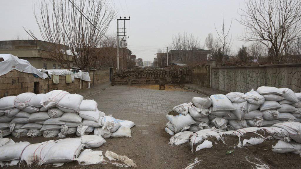 Verlassene Stellungen der PKK in Idil: Die Armee rückt gegen die kurdischen Kämpfer vor (Archiv).