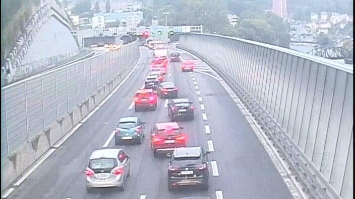 LKW-Panne sorgte für langen Stau im Morgenverkehr
