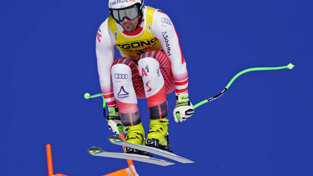 Vincent Kriechmayr wird von vielen Konkurrenten als der aktuell technisch beste Speed-Fahrer angesehen