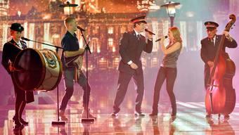 Die Heilsarmee sang sich mit «You and me» in der Entscheidungsshow am Samstag in die Herzen der TV-Zuschauer.