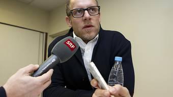 Reto von Arx spricht im Schweizer Fernsehen über das Coronavirus. (Archivbild)