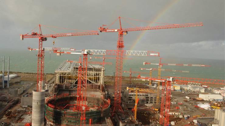 Die Inbetriebnahme des Europäischen Druckwasserreaktors in Flamanville (Frankreich) wird sich voraussichtlich bis 2020 verzögern. (Bild: Archiv, November 2009)