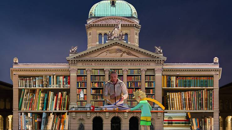 Das Berner Lichtspektakel huldigt dieses Jahr dem kleinen Prinzen.