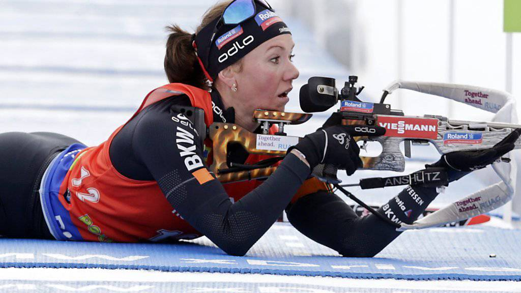 Selina Gasparin durfte sich in Oberhof über ihr bestes Saisonergebnis freuen