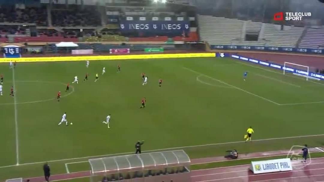 Challenge League 18/19 Runde 24: FC Lausanne-Sport - FC Aarau  9.3.19 - Chance Lausanne (2)