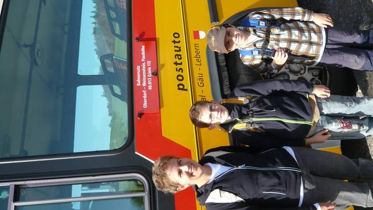 Hoch zur Sonne – mit Familie Marti im Postauto auf den Weissenstein