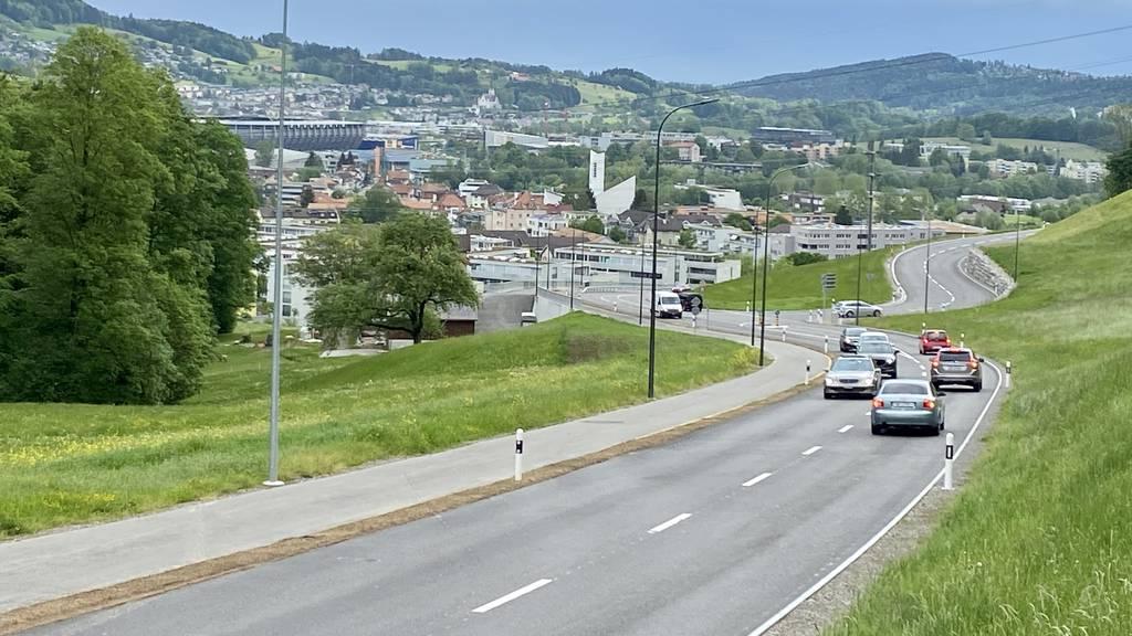 Nun starten die letzten Bauarbeiten zwischen Herisau und St.Gallen