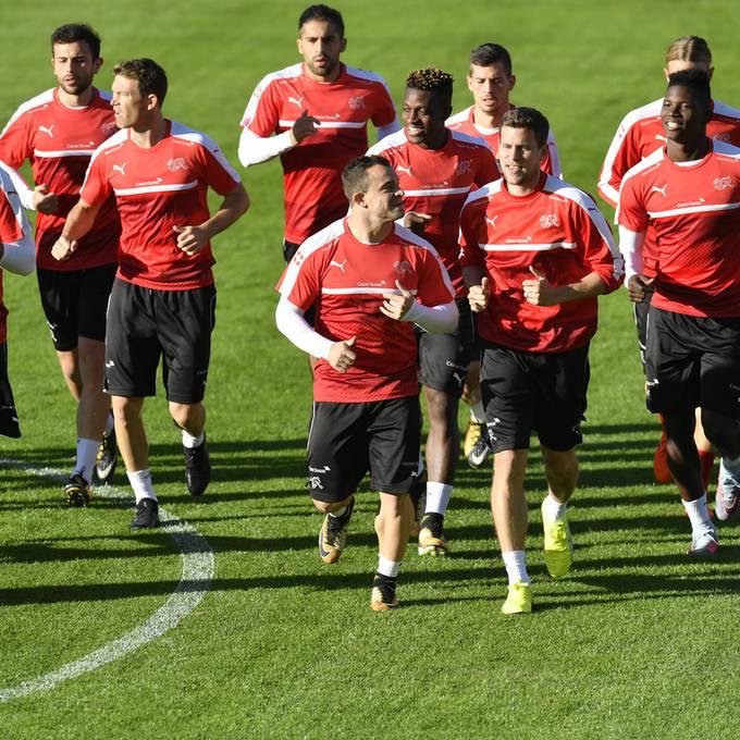 Schweizer Nati qualifiziert sich für die WM 2018 in Russland