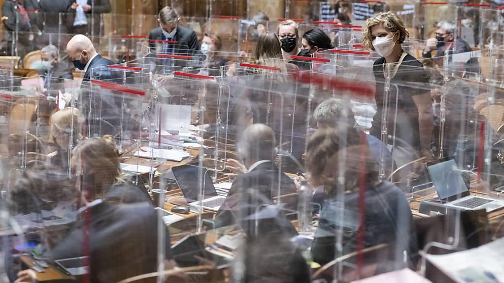 Nach dem Ständerat berät am Montag der Nationalrat erstmals die Revision des Covid-19-Gesetzes.
