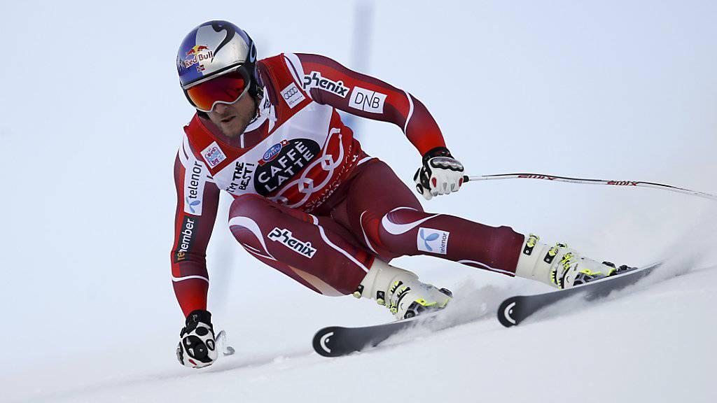 Aksel Lund Svindal gewinnt den Super-G im Val Gardena zum vierten Mal