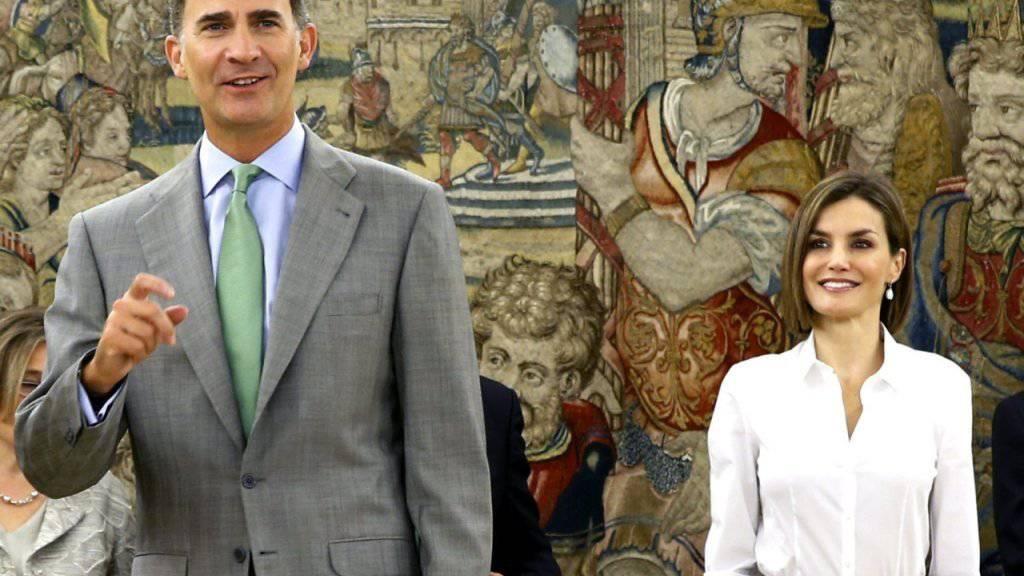 Spaniens König Felipe hat sich den Bart abrasiert - wohl auf Rat seiner Frau.