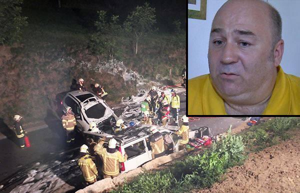 Fahrlehrer Alexander Berchtold erzählt aus seiner Sicht, wie der Unfall passiert ist.