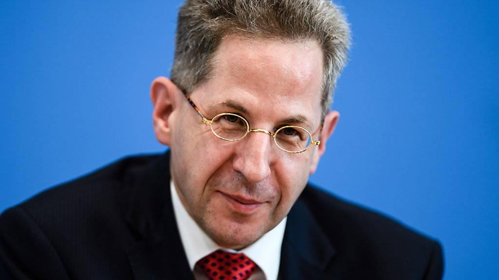 Hans-Georg Maassen muss seinen Posten als Chef des deutschen Verfassungsschutzes räumen.