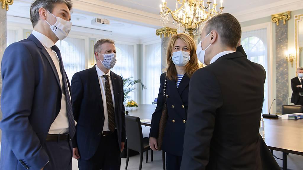 Von-Wattenwyl-Gespräche zu Coronavirus und Europapolitik