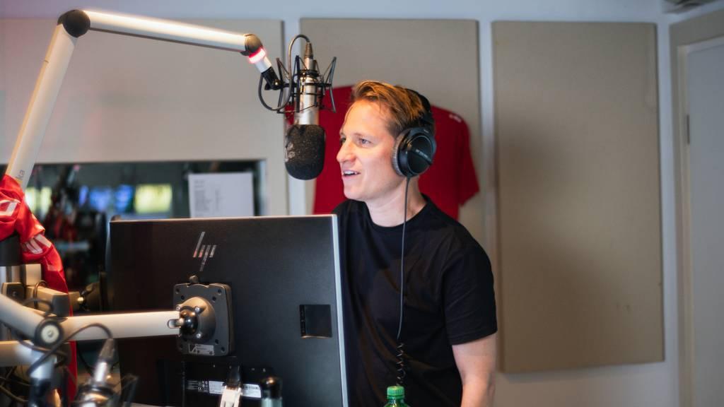 Hecht-Sänger Stefan Buck live im Studio