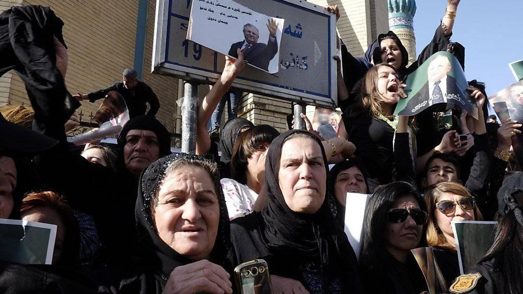 Zehntausende Kurden nehmen Abschied von Iraks Ex-Präsident Talabani