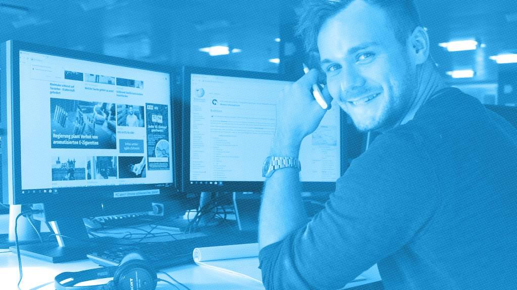 Online-Redaktor 80-100% (w/m) Schwerpunkt News