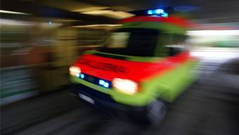 Der 34-jährige Schweizer musste ins Spital eingeliefert werden. (Archivbild)