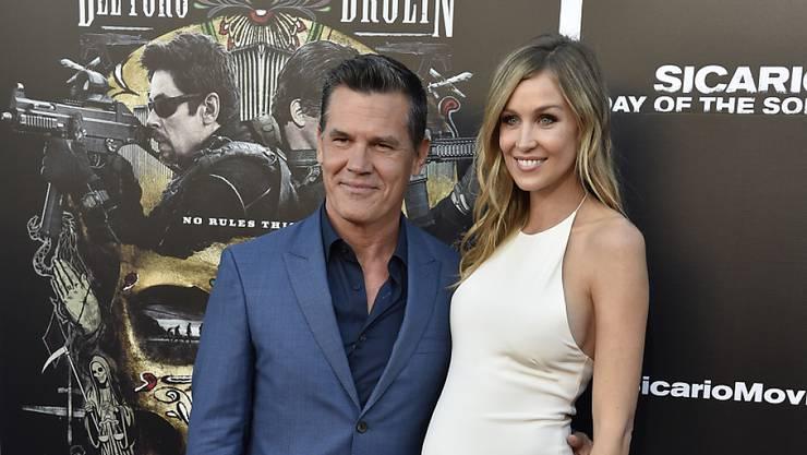 US-Schauspieler Josh Brolin und seine Frau, Model Kathryn Boyd freuen sich über die Geburt der Tochter Bean. (Archivbild)