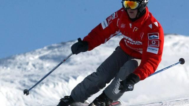 Michael Schumacher verunglückte im Dezember beim Skifahren (Archiv)