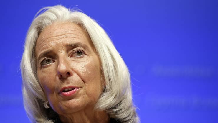 Christine Lagarde, Chefin des Internationalen Währungsfonds