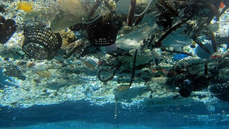 lastikabfälle in den Ozeanen sind eines der grössten Umweltprobleme weltweit. (Archivbild)