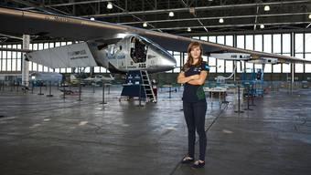 Fürs erste Endstation: Die Solar Impulse II bleibt bis nächsten Frühling auf dem Kalaeloa Airport in Hawaii, Tamara Tursijan ist bereits abgereist.