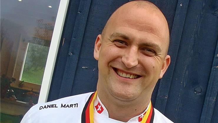 Frohnatur: Olympiasieger Daniel Marti aus Brislach.