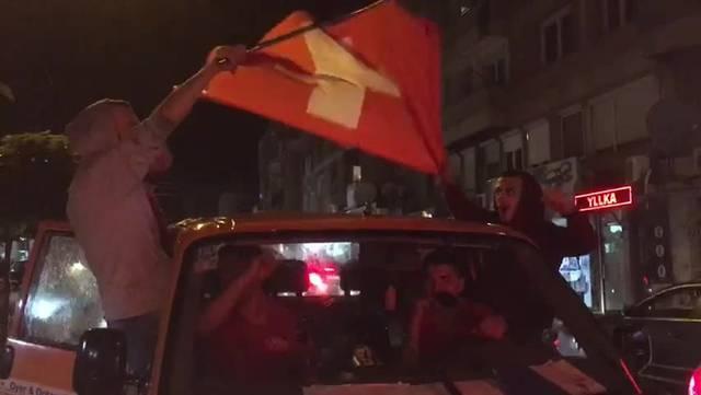 Gjilan feiert den Schweizer Sieg