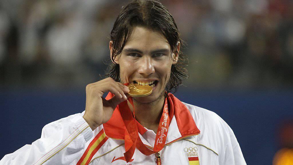 Rafael Nadal muss erst noch länger im Training auf die Zähne beissen, bevor er auf die Tour zurückkehrt