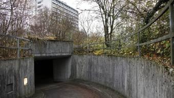 Zentrum für Asylsuchende beim Bürgerspital Solothurn an der Schöngrünstrasse