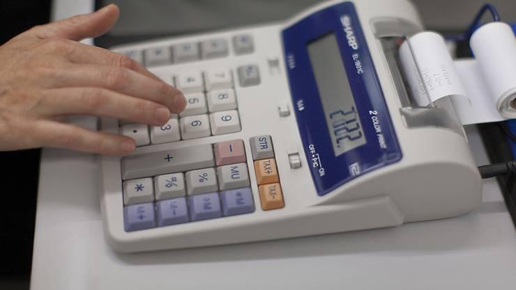 Schweizer KMU rechnen mit weniger Umsatz: Sinkende Preise schüren Ängste vor einer nachlassenden Nachfrage. (Symbolbild)