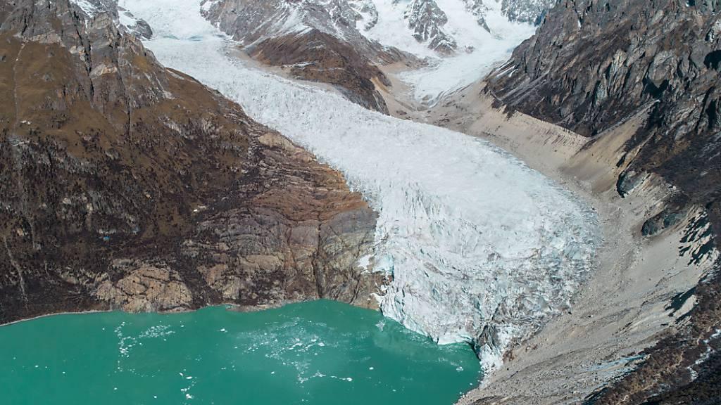 Gletschersee-Ausbrüche verschärfen Flutrisiko in Teilen Asiens
