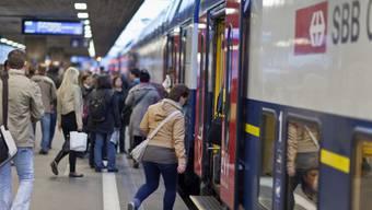 Die Zürcher S-Bahn war zu unpünktlich (Archiv)
