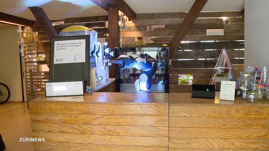 Neuer Roboter ersetzt Barkeeper