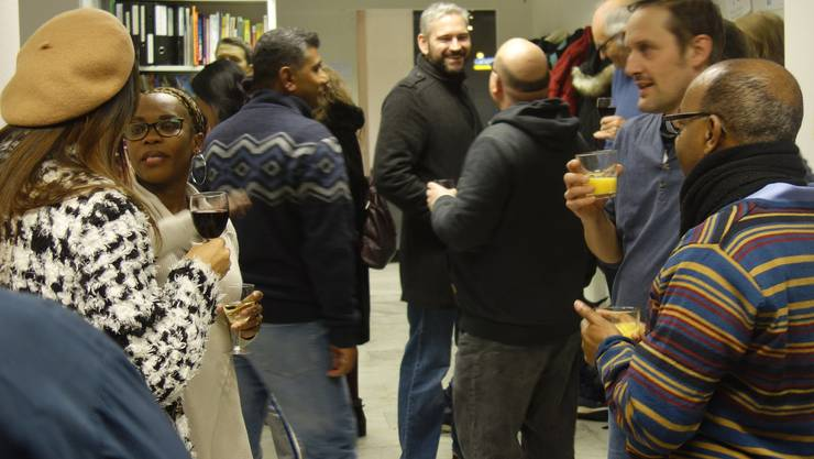 Rund 40 Freiwillige haben am geselligen Anlass teilgenommen.