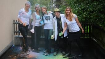Kreativ in die Zukunft: Das neue Juseso-Team mit Lena Heskamp, Anna-Maria Bieri, Tamina Spiess, Christian Rigling und Christine Schmidts (v.l.). Es fehlt Daniela Leimgruber.