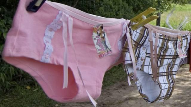 Beute des Diebes: Zwei Damen-Slips und 137 Euro (Symbolbild)