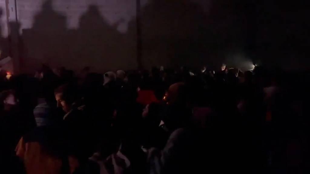Illegaler Silvester-Rave mit mehr als 2'000 Leuten nach über 24 Stunden aufgelöst