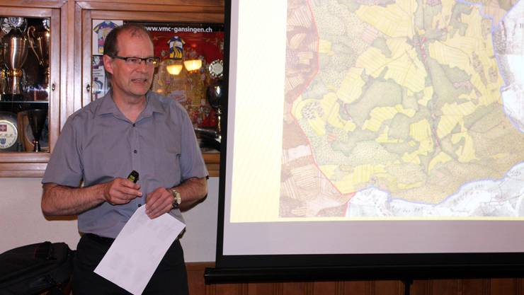 Linus Hüsser referierte an der Generalversammlung des Trägervereins Cheisacher-turm.