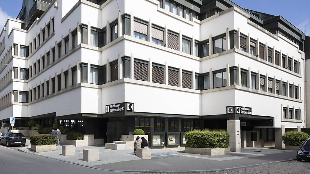 Die Schaffhauser Kantonalbank erzielte 2020 einen Gewinn von rund 46 Millionen Franken. (Symbolbild)