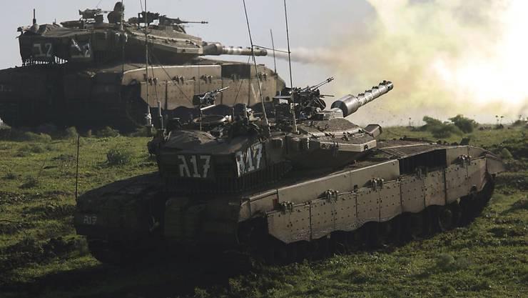 Grosse Militärübung mit zehntausenden Soldaten: Israel übt den Krieg gegen die libanesische Hisbollah-Miliz. (Symbolbild)