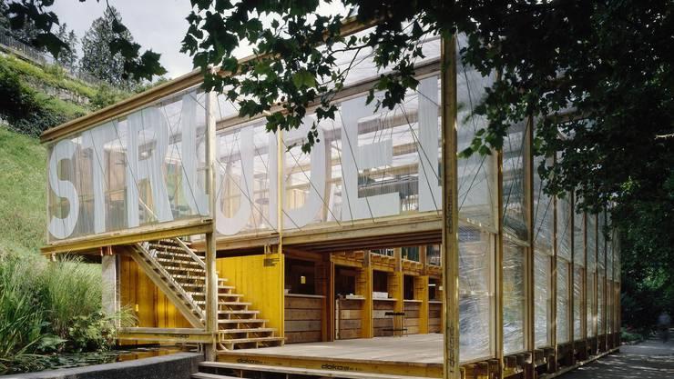 Baden: Der Konzertpavillon Strudel lebte nur eine Badenfahrt lang.