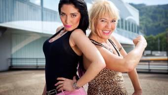 Reality-TV-Teilnehmerinnen JLo und Angie auf der Shopping-Raststätte Würenlos
