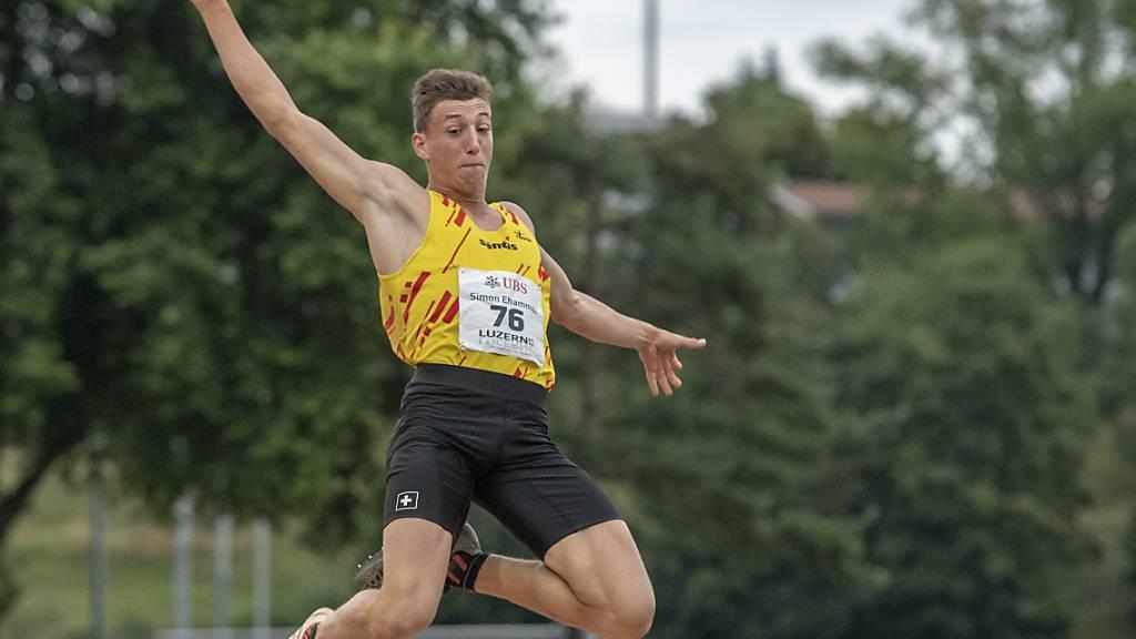 Ehammer verpasst Schweizer Rekord nur knapp