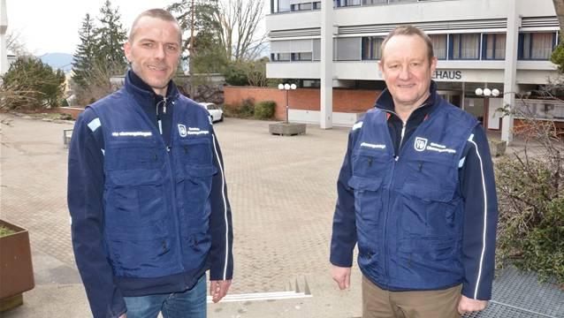 Peter Laib und Christian Fischer von der SIP Züri informierten im März über ihren Auftrag in Oberengstringen