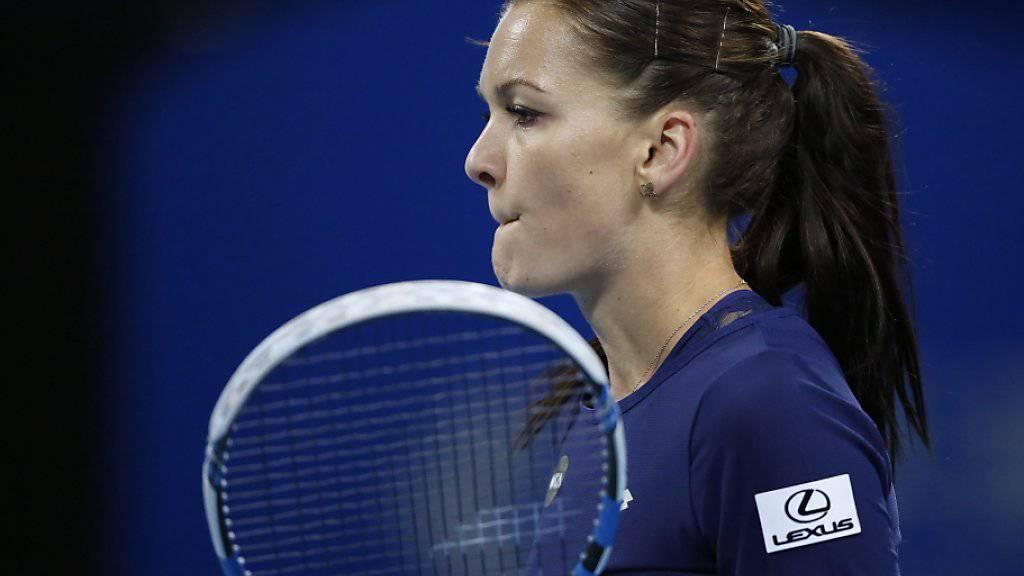 Mit einem starken Herbst für die WTA-Finals qualifiziert: die Polin Agnieszka Radwanska