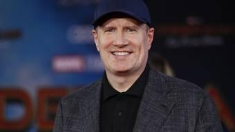 Verschickt falsche Skripts und verhüllt die Schauspieler: Marvel- Produzent Kevin Feige ist ein Held im Vermeiden von Spoilern. (Keystone/EPA/ETIENNE LAURENT)