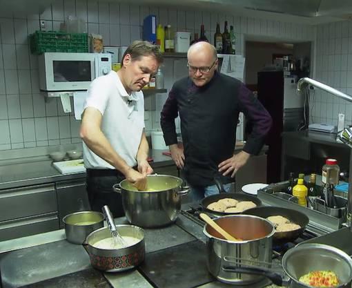 Daniel Bumann im Restaurant Sternen in Egerkingen.