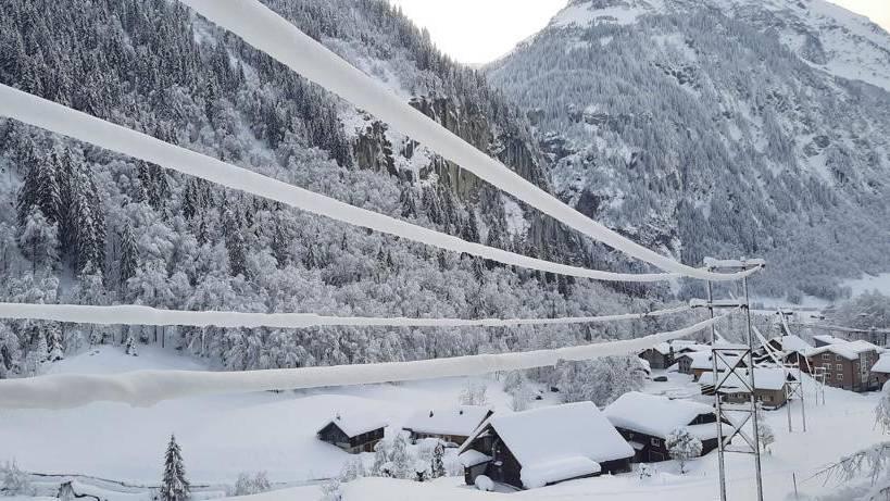 Pikettmannschaften standen wegen Schneemassen im Dauereinsatz